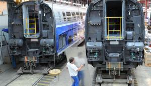 TGV Duplex - pierwsza na świecie dwupoziomowa kolej dużych prędkości.
