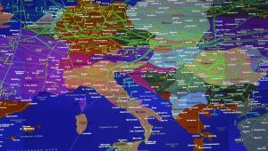 Dystrybucja gazu ziemnego w Europie przez Gazprom