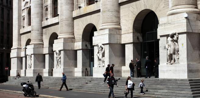Giełda w Mediolanie