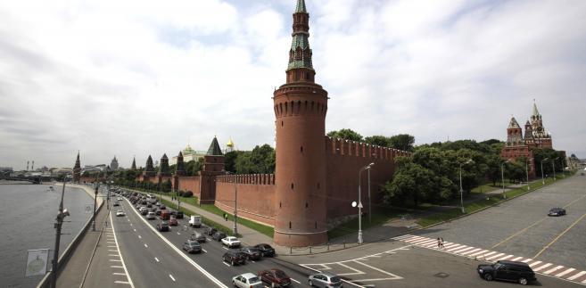 Kreml, siedziba najwyższych władz Rosji. Fot. Bloomberg