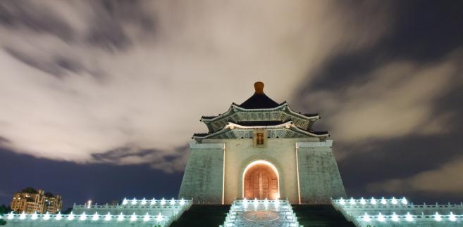 Taipei, Tajwan - Chiang Kai-Shek Memorial Monument Hall