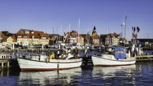 Port Faaborg w Danii