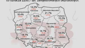 Stopa bezrobocia w Polsce w kwietniu 2013 r. wyniosła 14,0 proc.