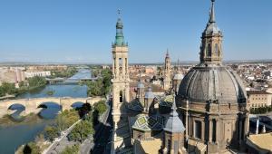Hiszpania - Saragossa, kościół El Pilar