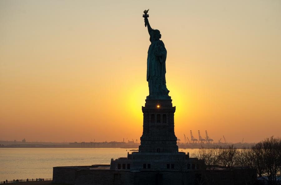 Nowy Jork - Statua Wolności