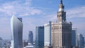 Wizualizacja: Złota 44, wieżowiec zaprojektowany przez Daniela Libeskinda i budowany przez Orco w Warszawie. Fot. © 2008 ORCO PROPERTY GROUP