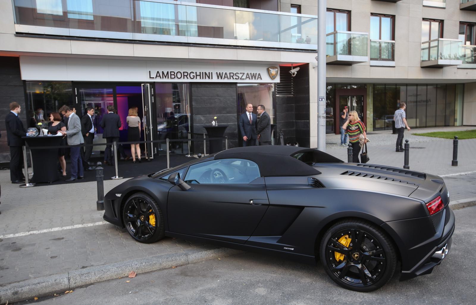 Otwarcie Pierwszego Salonu Lamborghini W Polsce ZdjĘcia