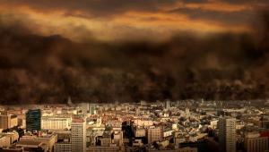 Apokaliptyczna wizja Warszawy