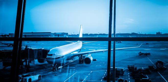 samolot, lotnisko