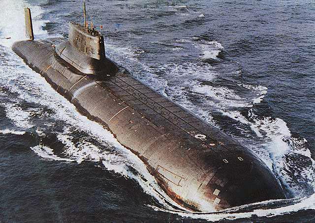 Okręt podwodny, Rosja, Autor: Bellona Foundation?CP\M at en.wikipedia, źródło: Wikimedia Commons