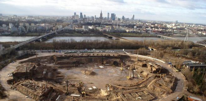 Stadion Dziesięciolecia w Warszawie - zdjęcie archiwalne