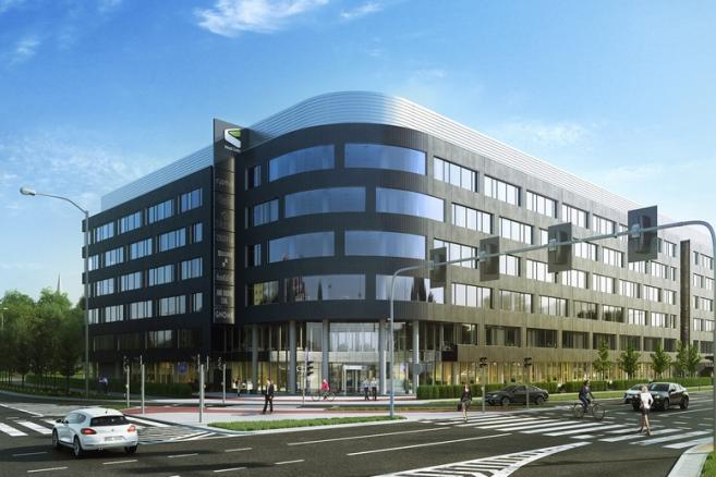 West Gate we Wrocławiu - wizualizacja: materiał prasowy Echo Investment