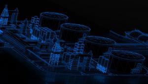 Instalacja do produkcji propylenu metodą PDH - wizulalizacja