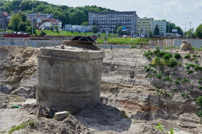 Kompleks Forum Gdańsk początek budowy . (aw/cat) PAP/Adam Warżawa