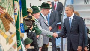 Przyjazd Baracka Obamy na szczyt G7