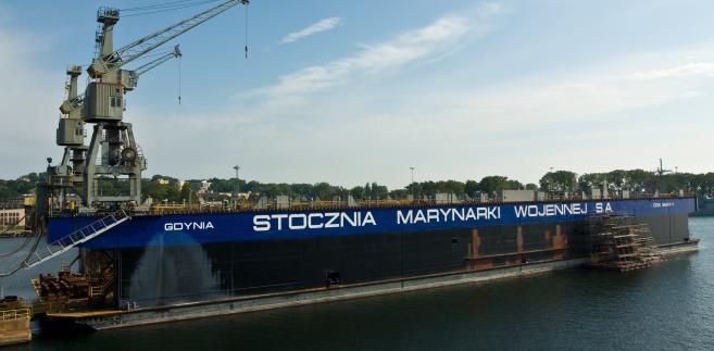 Stocznia Marynarki Wojennej w Gdyni S.A. Autor: Nikodem Nijaki. Licencja CC BY-SA 3.0 na podstawie Wikimedia Commons
