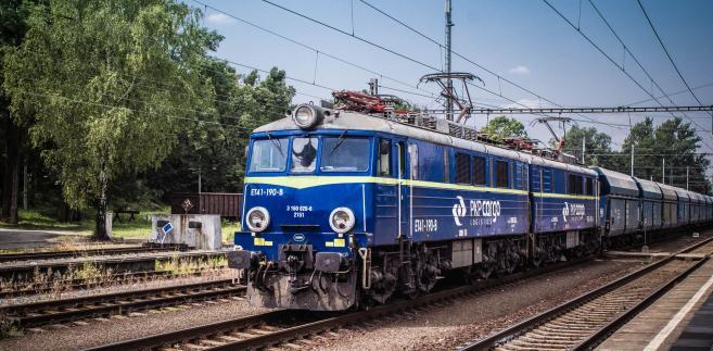 Pociąg towarowy PKP Cargo