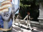 Bunt pracowników sektora publicznego w Grecji. Mają dość oszczędności