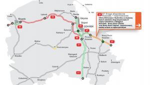 Droga S7 - woj. pomorskie, Koszwały - Kazimierzowo