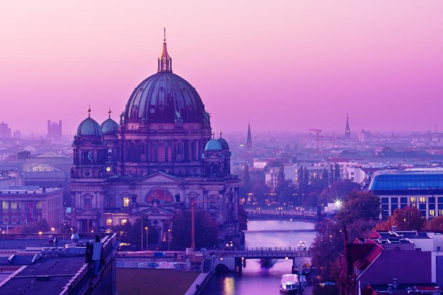Widok na Berlin