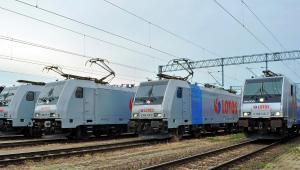 Wielosystemowe lokomotywy Traxx w barwach Lotosu Kolej