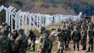 Wojsko na granicy grecko-macedońskiej, EPA/NAKE BATEV Dostawca: PAP/EPA.