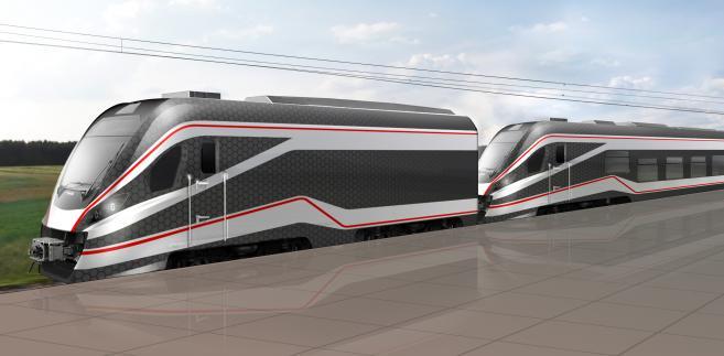 Hybrydowy pociąg Newagu dostał dofinansowanie z NCBiR