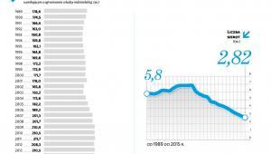 Liczba sierot i małoletnich pod opieką państwa
