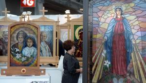 XVII Międzynarodowa Wystawa Budownictwa i Wyposażenia Kościołów, Sztuki Sakralnej i Dewocjonaliów SacroExpo w Kielcach potrwa od 20 do 22 czerwca 2016 rok fot. (mr) PAP/Piotr Polak