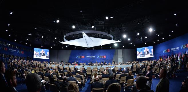 Sesja Rady Północnoatlantyckiej w trakcie szczytu NATO na Stadionie PGE Narodowym