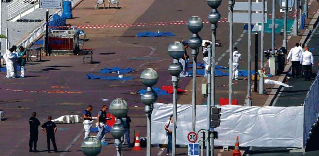 W zamachu w Nicei, do którego doszło 14 lipca, zginęły 84 osoby ALBERTO ESTEVEZ/EFE_FORUM