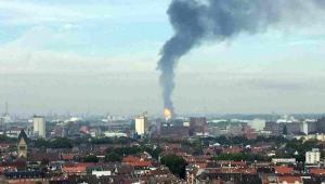 Wybuch w fabryce BASF w Niemczech EPA/ASTRID JACOBI BEST QUALITY AVAILABLE Dostawca: PAP/EPA.