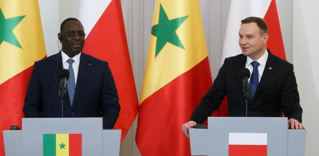 Wizyta prezydenta Republiki Senegalu Macky'ego Salla.