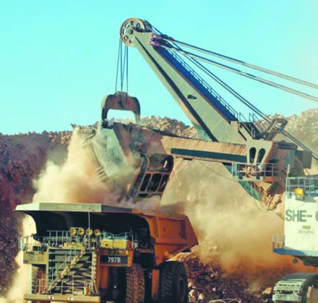 Sierra Gorda: na razie górnicy przekopują się przez złoże o niskiej zawartości metalu FOT. MATERIAŁY PRASOWE