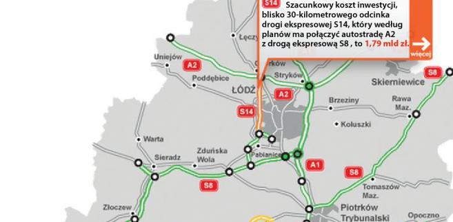 S14 - obwodnica Łodzi