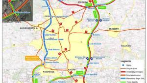 Łódź - miasto z biegu autostrad A1, A2 oraz tras ekspresowych S8 i S14