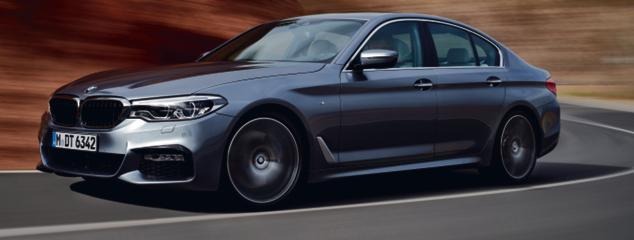 BMW 540i fot. mat. prasowe
