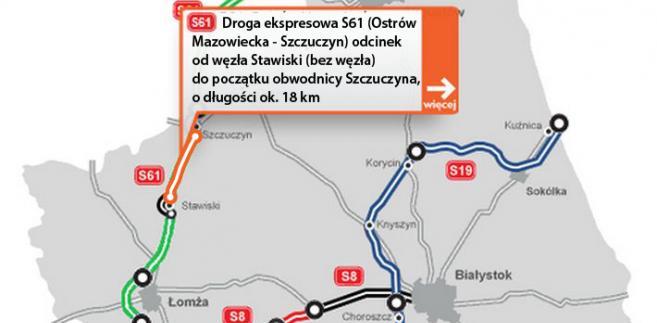 Droga ekspresowa S61 Ostrów Mazowiecka - Szczuczyn