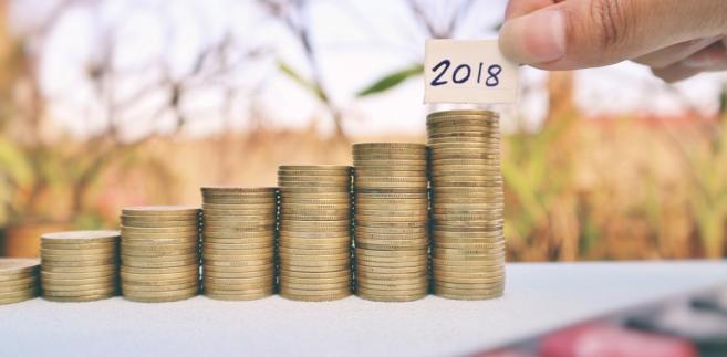 pieniądze 2018