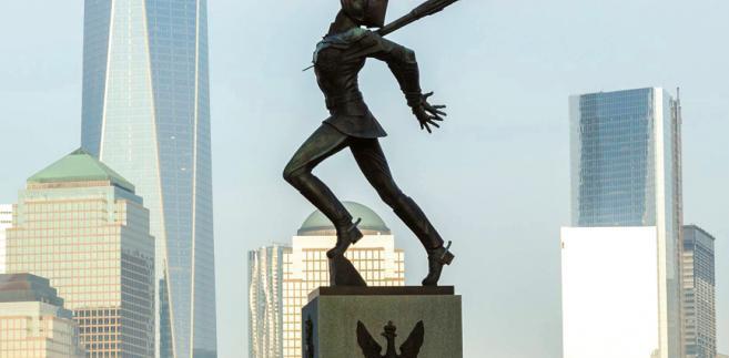 Pomnik katyński w New Jersey fot. Steve Heap/Shutterstock