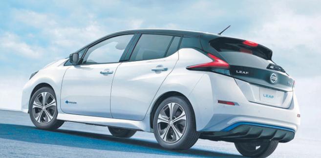 Nissan Leaf fot. Materiały prasowe