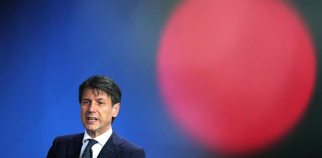Giuseppe Conte, premier Włoch. 18.06.2018