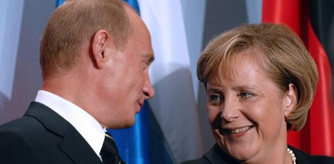 Putin i Merkel spotykaja się w sprawie Gazociagu Północnego