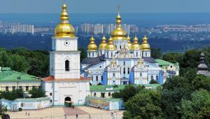 Cerkiew św. Michała w Kijowie. Ukraina