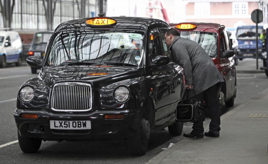 taxi, Londyn