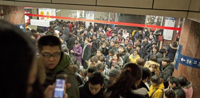 Stacja metra Mao w Pekinie