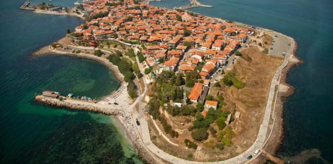 Miasto Nessebar w Bułgarii