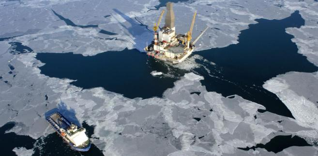 Platforma wydobywcza na Sachalinie.