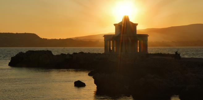 Latarnia morska Argostoli na Kefalonii, Grecja