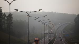 Autostrada A2 w okolicach Torzyma.